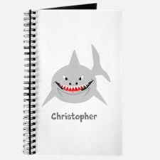 Personalized Shark Design Journal