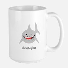 Personalized Shark Design Mugs