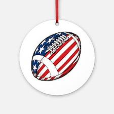 Football Ornament (Round)
