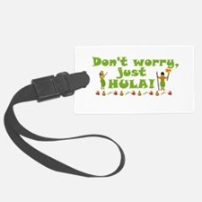 Don't Worry Just Hula 1 Luggage Tag