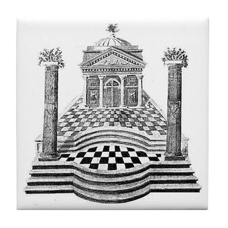 Masonic Tile Coaster