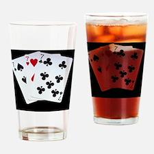 Lucky Sevens Drinking Glass