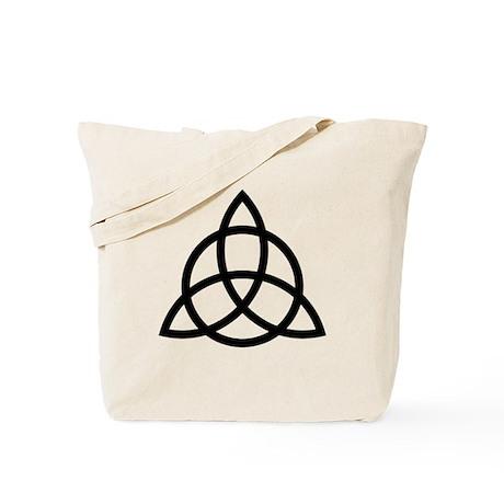 Celtic triquetra Tote Bag