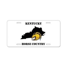 Horse Country Aluminum License Plate