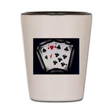 Lucky Sevens Sparkle Shot Glass