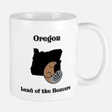 Oregon-land of the beavers Mugs
