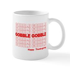 Gobble Gobble Retro Thanksgiving Mugs