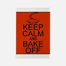 Keep Calm and Bake Off Rectangle Magnet