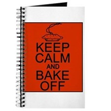 Keep Calm and Bake Off Journal