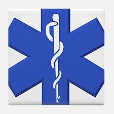 EMT star of life Tile Coaster