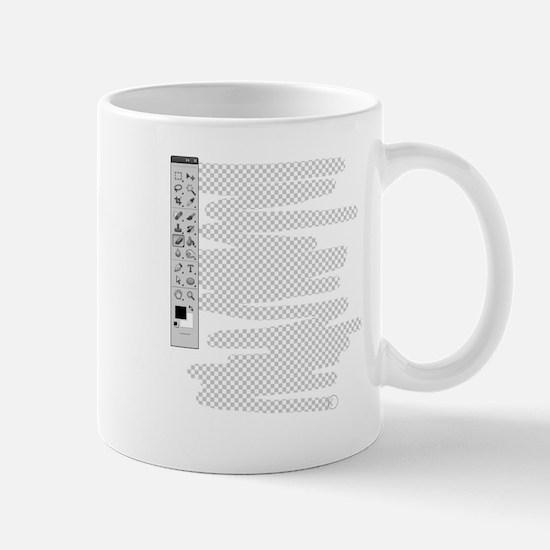 Erase Your Own Shirt Mugs
