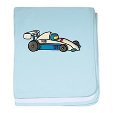 Cute Race Car Doodle For Kids baby blanket