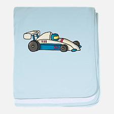 Cute Race Car Doodle For Kids baby blanket