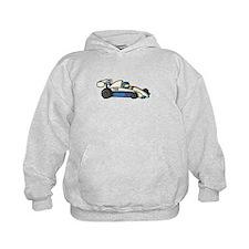 Cute Race Car Doodle For Hoody