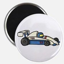 Cute Race Car Doodle For Kids Magnets