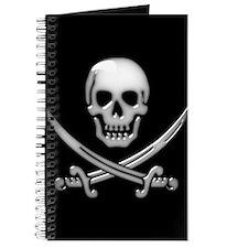 Cute Jolly roger Journal