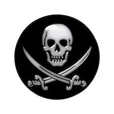 """Cute Talk like a pirate 3.5"""" Button (100 pack)"""