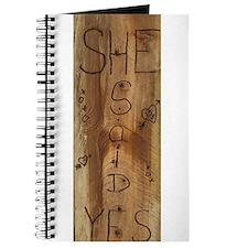 Cute Burned Journal