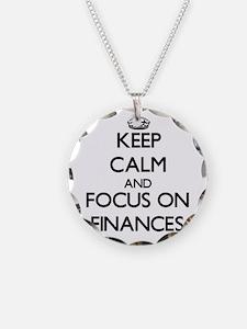 Cute Economics Necklace