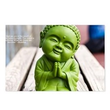 tiny buddha Postcards (Package of 8)