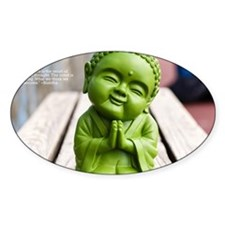 tiny buddha Decal