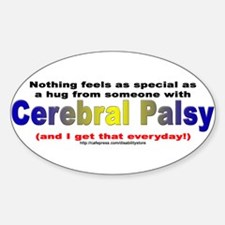 CP Special Hug Oval Decal