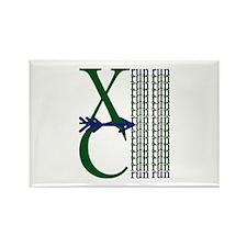 XC Run Green Blue Magnets