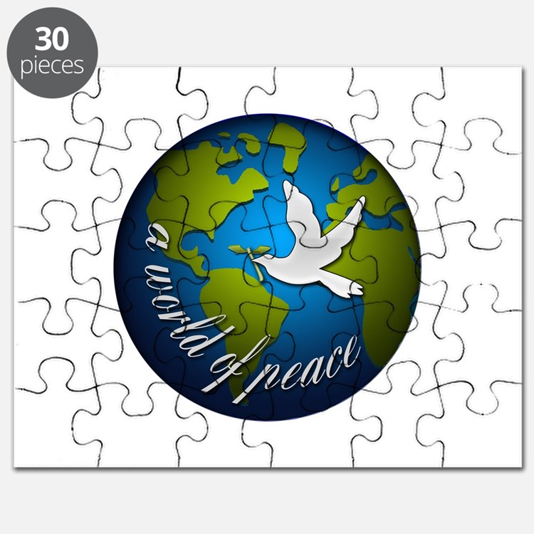 Cute Peaceful world Puzzle