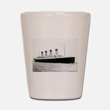 Funny Titanic Shot Glass