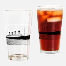 Funny Titanic Drinking Glass