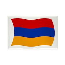Armenia Flag 2 Rectangle Magnet (100 pack)