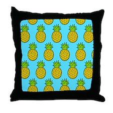 'Pineapples' Throw Pillow