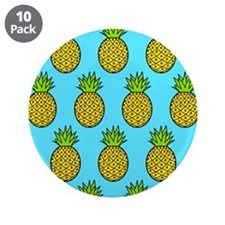 """'Pineapples' 3.5"""" Button (10 pack)"""