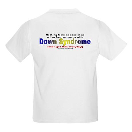 DS Hug (backprint) Kids Light T-Shirt
