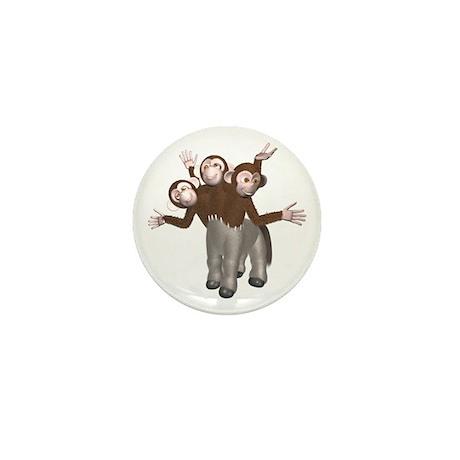 Ponkey Mini Button (10 pack)