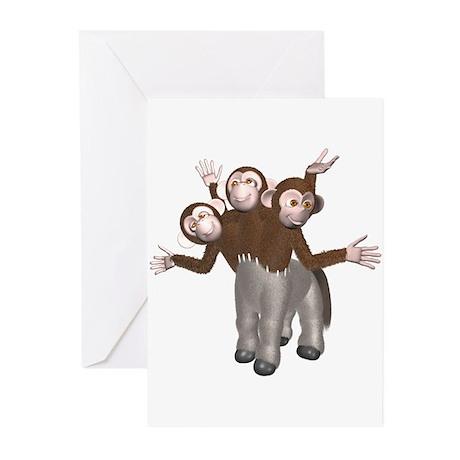 Ponkey Greeting Cards (Pk of 10)