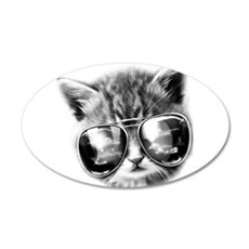 COOL CAT Wall Decal