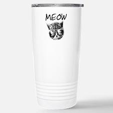 COOL CAT Stainless Steel Travel Mug