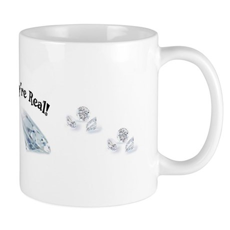 Yes, They're Real ! Mug