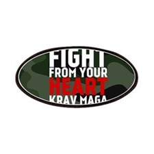 Learn From The Street Krav Maga Patches