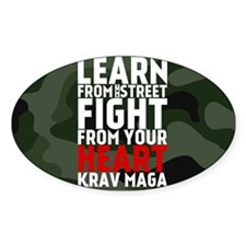 Learn From The Street Krav Maga Decal