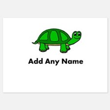 Turtle Design - Add Your Name! Invitations