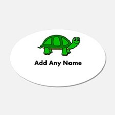 Turtle Design - Add Your Name! Wall Decal