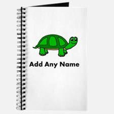 Turtle Design - Add Your Name! Journal