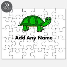 Turtle Design - Add Your Name! Puzzle