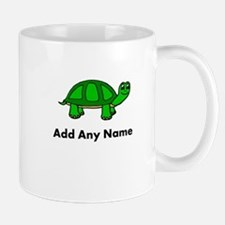Turtle Design - Add Your Name! Mugs
