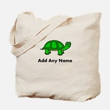 Turtle Design - Add Your Name! Tote Bag
