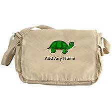Turtle Design - Add Your Name! Messenger Bag