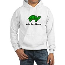 Turtle Design - Add Your Name! Hoodie