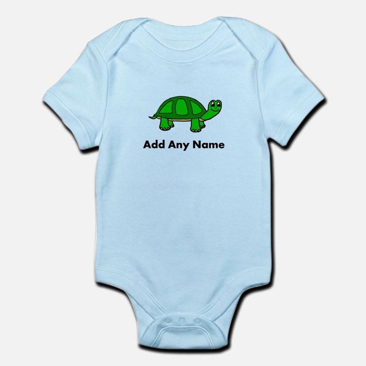 Turtle Design - Add Your Name! Body Suit